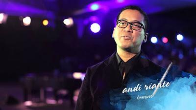 Biografi Andi Rianto  Andi Rianto adalah komposer dan pemimpin Magenta Orchestra. Lulusan Berklee College of Music ini telah mengerjakan banyak ilustrasi musik film dan juga menjadi arranger, antara lain CA-BAU KAN (2002), TITIK HITAM (2002), BIARKAN BINTANG MENARI (2003), ARISAN! (2003), 30 HARI MENCARI CINTA (2004), MENGEJAR MATAHARI (2004), VINA BILANG CINTA (2005), 9 NAGA (2006), JATUH CINTA LAGI (2006), MENDADAK DANGDUT (2006), KUNTILANAK (2006), PESAN DARI SURGA (2006), POCONG 2 (2006), KANGEN (2007), POCONG 3 (2007), dan KUNTILANAK 2 (2007).  Andi sempat dua kali masuk sebagai nominator Penata Musik Terbaik Festival Film Indonesia (FFI), yaitu untuk film MENDADAK DANGDUT (FFI tahun 2006) dan MENGEJAR MAS-MAS (FFI tahun 2007). Selain mengerjakan musik untuk film, Andi juga menjadi penata musik atau membuat lagu untuk penyanyi lain, seperti BAHASA LANGIT (2001) milik Ebiet G. Ade (Andi menggarap Ingin Kupetik Bintang Kejora, Bahasa Matahari, dan Nyanyian Getir Tanah Air), PEREMPUAN (2000) milik Rita Effendy, BAHASA KALBU (1999) milik Titi DJ, serta album Agnes Monica, WHADDUP A.. '?! (2005).  Bersama Magenta Orchestra, Andi menggelar konser akbar bertajuk Magenta Moviechestra pada tanggal 14 Mei 2008. Konser ini menghadirkan cuplikan film, scoring, dan soundtrack yang dipilih dari