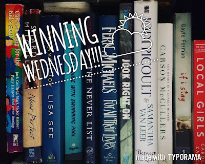 Winning Wednesday--Bookish Giveaways
