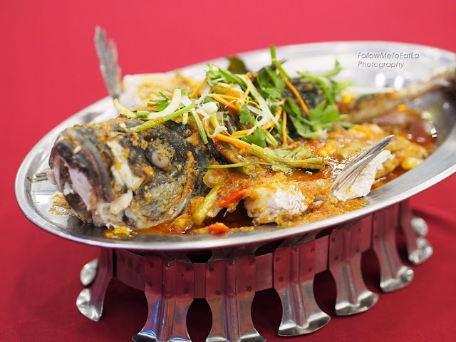 Steam Assam Fish