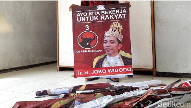 Soal Poster 'Raja Jokowi', Tim Prabowo: Lucu, Kok Kami Disalahkan?