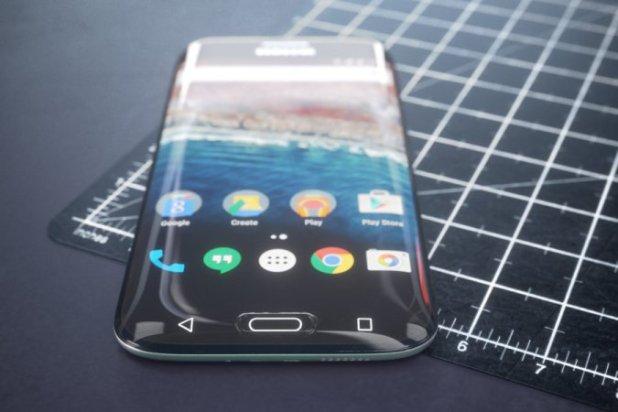 Samsung Galaxy S8 concepto