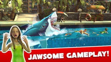 تحميل لعبة hungry shark world