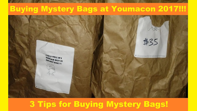 Buying Mystery Bags at Youmacon 2017!! | 3 Tips for Buying Mystery Bags at Cons
