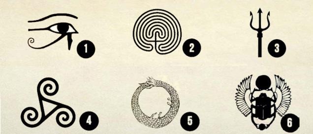 Выберите символ и узнайте его послание к вам!