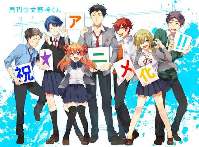 review anime gekkan shoujo nozaki-kun