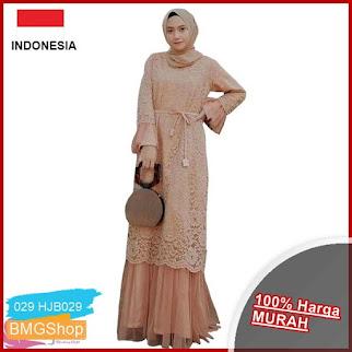 HJB029 Dress Humaira Muslim Brukat BMGShop