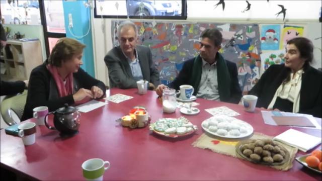 Επίσκεψη της Υπουργού Πολιτισμού Λυδίας Κονιόρδου στην Πύλη Πολιτισμού Ναυπλίου