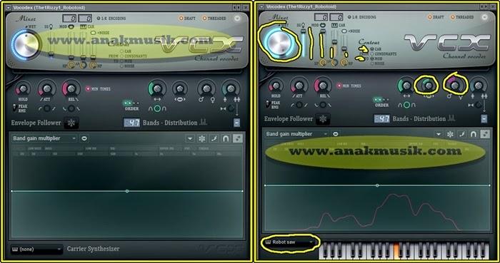 Mengatur Volume Vokal Robot Di FL Studio