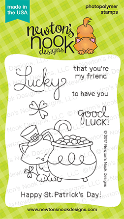 Newton's Nook Designs Newton's Pot of Gold Stamp Set