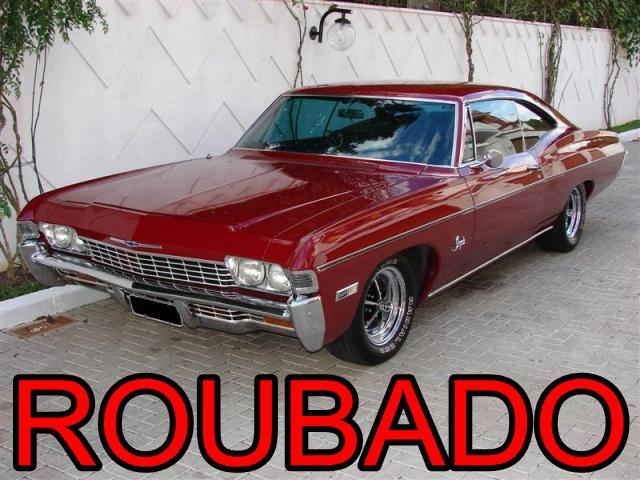 Chevrolet Impala 68 roubado
