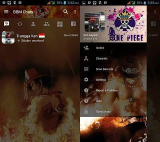 BBM Transparan Portgas D Ace v3.2.0.6 Apk Terbaru