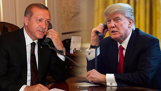 Tι είπαν τηλεφωνικά Ερντογάν - Τραμπ