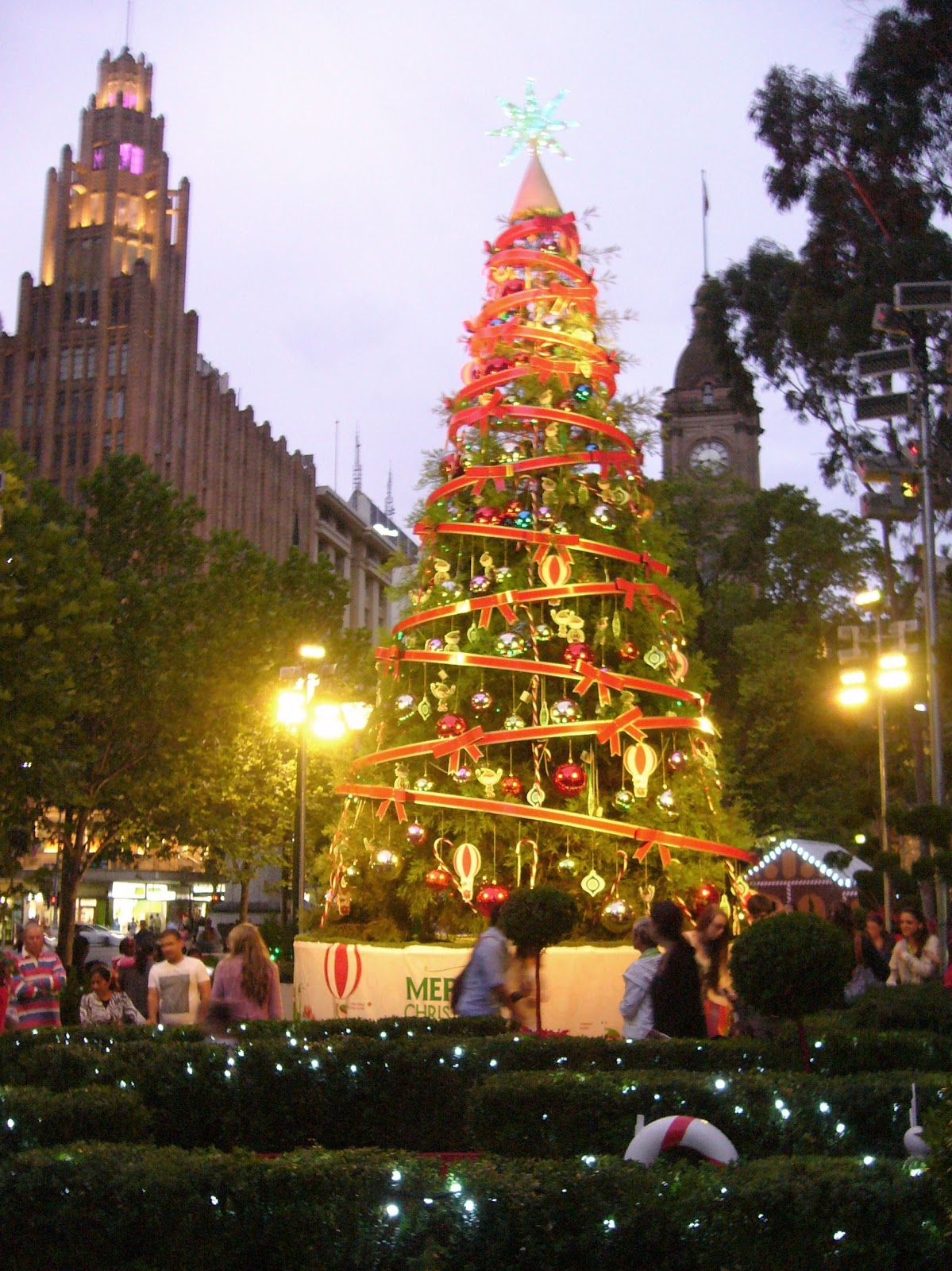 Simple Simon Says: Melbourne - Christmas Trees 2012