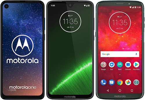 Motorola One Vision vs Motorola Moto G7 Plus vs Motorola Moto Z3 Play