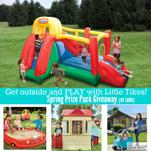 One Savvy Mom™ | NYC Area Mom Blog: 4 Fun Products To Create An Outdoor Play Space + Prize Pack Giveaway