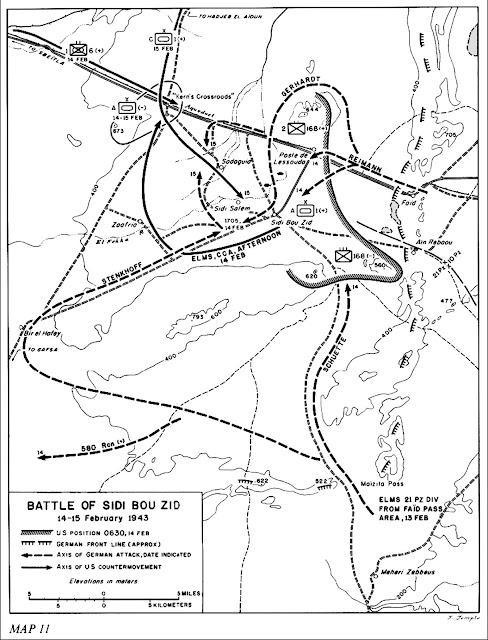 Η μάχη του Sidi Bou Zid