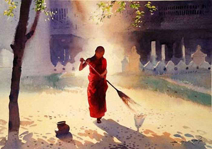 Тишина и спокойствие. Myoe Win Aung 5