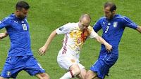 Italia vs Spanyol 2-0