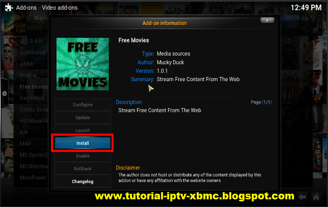 how to get movies on kodi on andriod