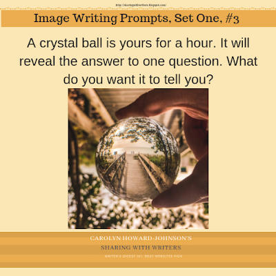 Writing Prompts Set One, Prompts One Through Three for Quick Writes