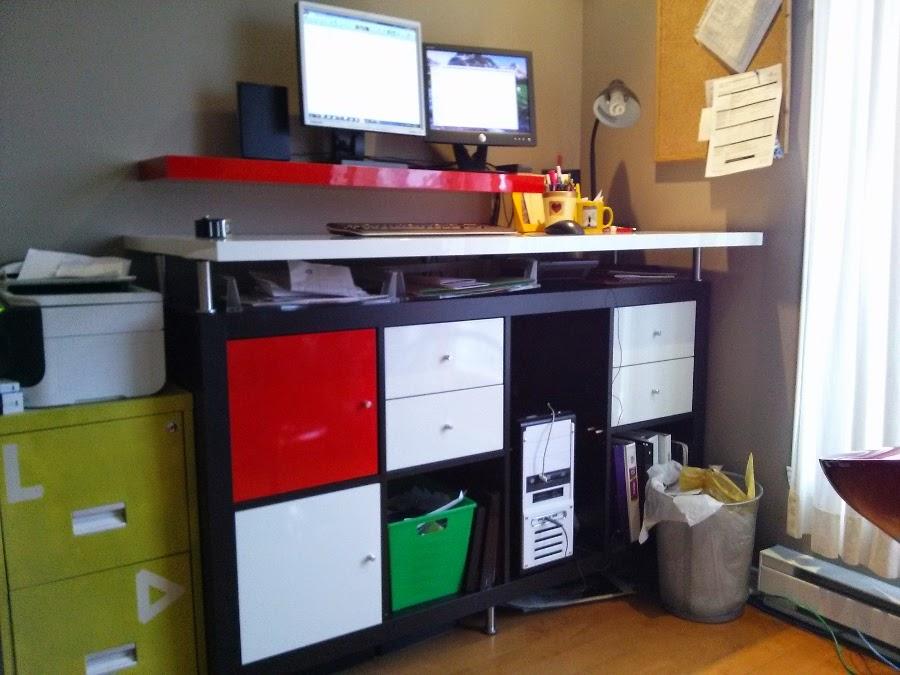 Modern Dry Erase Standing Desk Ikea