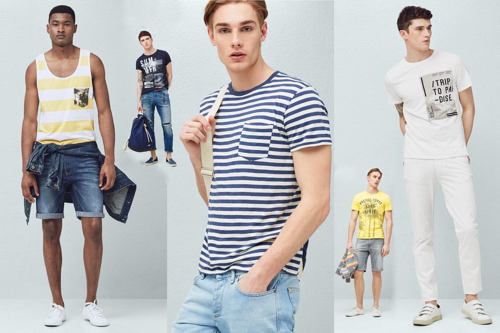 6ba159894a76 Стиль мужской моды 2016 Mango позволяет сделать это – выбор одежды casual  известного ...