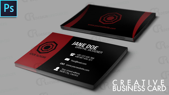 Awesome Creative Business Card - Photoshop Tutorial