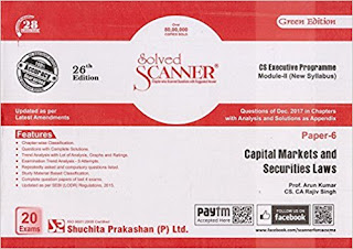 Download Free Shuchita Prakashan's Solved Scanner for CS Professional Module 3 Book PDF
