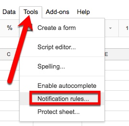 location of notification rules