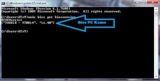 Cara mengetahui versi BIOS komputer kita