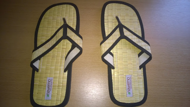 "Zimt-Slipper Nawemo ""Natural-Sytle""."