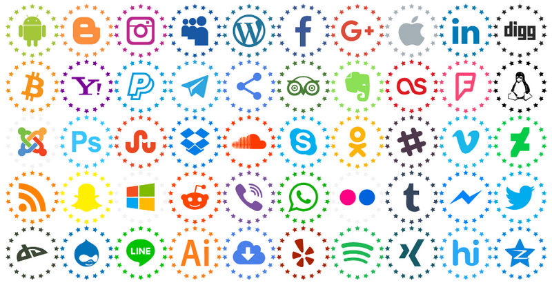 Download Font Type Icons Color 107 icons