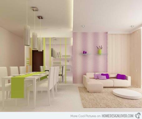 thiết kế phòng khách ở góc cho những căn hộ chung cư