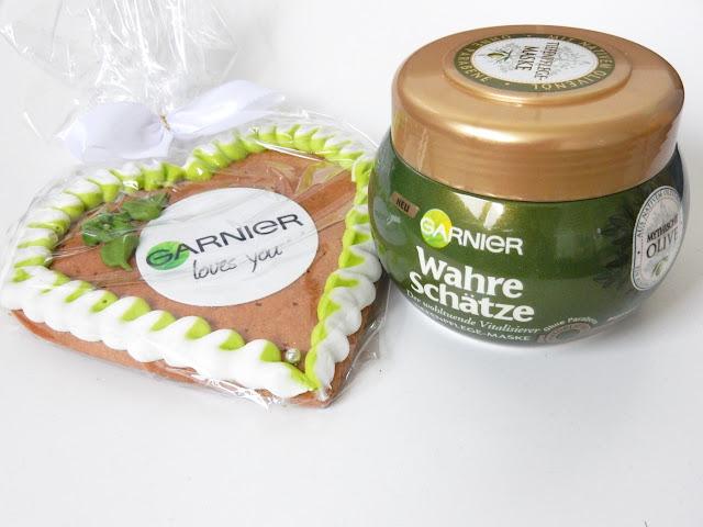 Garnier Wahre Schätze Der wohltuende Vitalisierer Mythische Olive Pflege-Maske