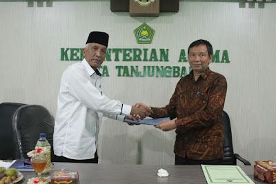 Hasil Expose Audit Kinerja Kemenag Tanjungbalai Baik