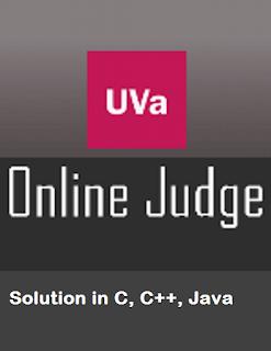 UVA Online Judge Solution, UVA OJ Solution list, UVA Problems Solution, UVA solver, UVA all problem solution list