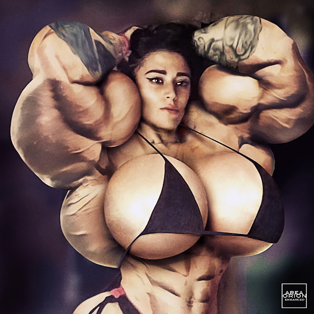 Dada female muscle morph