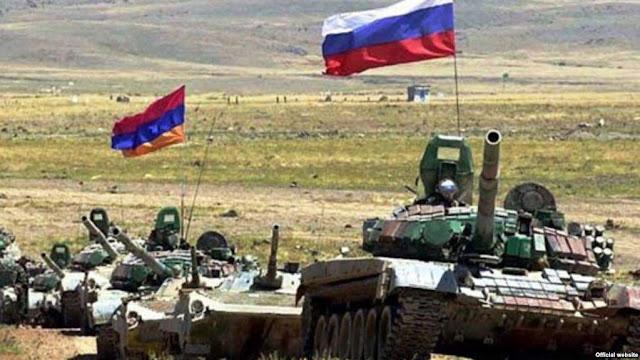 Tropas armenias y rusas realizan ejercicios militares conjuntos