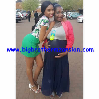 BBMzansi Housemate Kay Is Pregnant Baby shower Photo