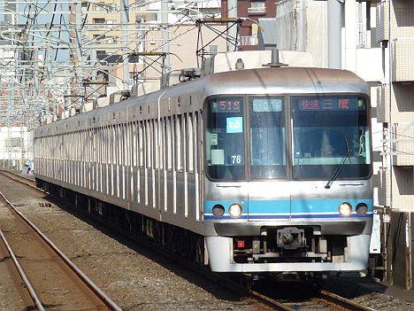 東京メトロ東西線 快速 三鷹行き3 07系
