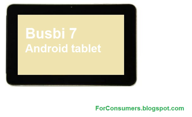 Busbi 7 Android tablet specs and review