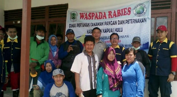 Kalimantan Barat Perkuat Perang Lawan Rabies