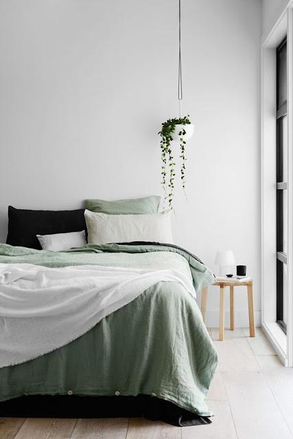 groen bedlinnen