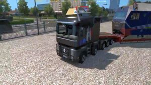 Renault Magnum truck 6×4 8×4 and 10×4
