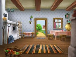 Casa Por Dentro Dibujo 5