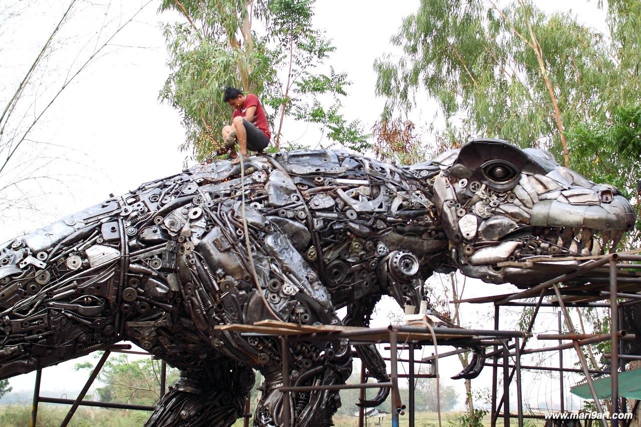 Metal Art Home Decor Metal Art Sculpture Metal Animal Sculpture Metal Wall