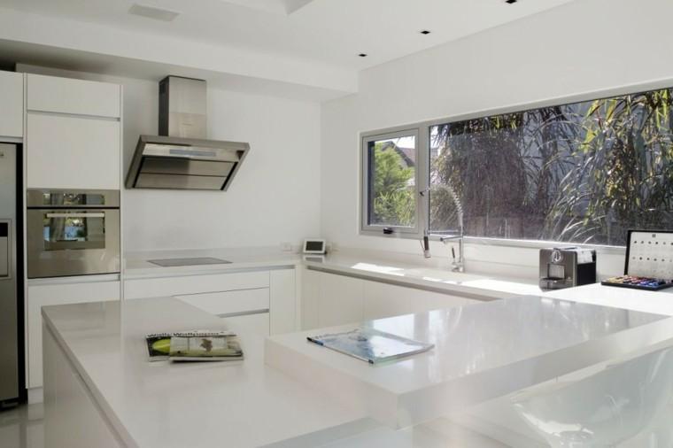 Con el fregadero bajo la ventana cocinas con estilo - Modelos de fregaderos ...