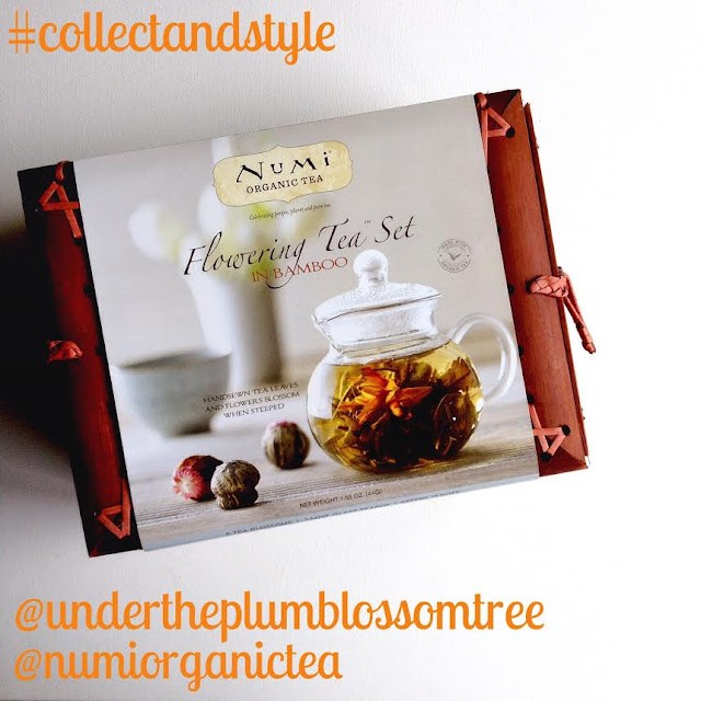 Numi Organic Tea, #collectandstyle Instagram, Under The Plum Blossom Tree