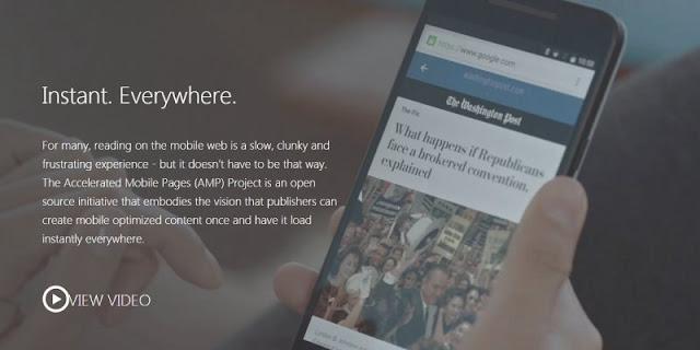 Google AMP 技術,號稱讓行動版網頁秒開,不過我的觀察心得有不同看法