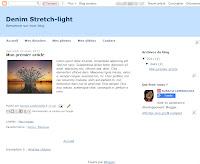 Denim Stretch Light Theme